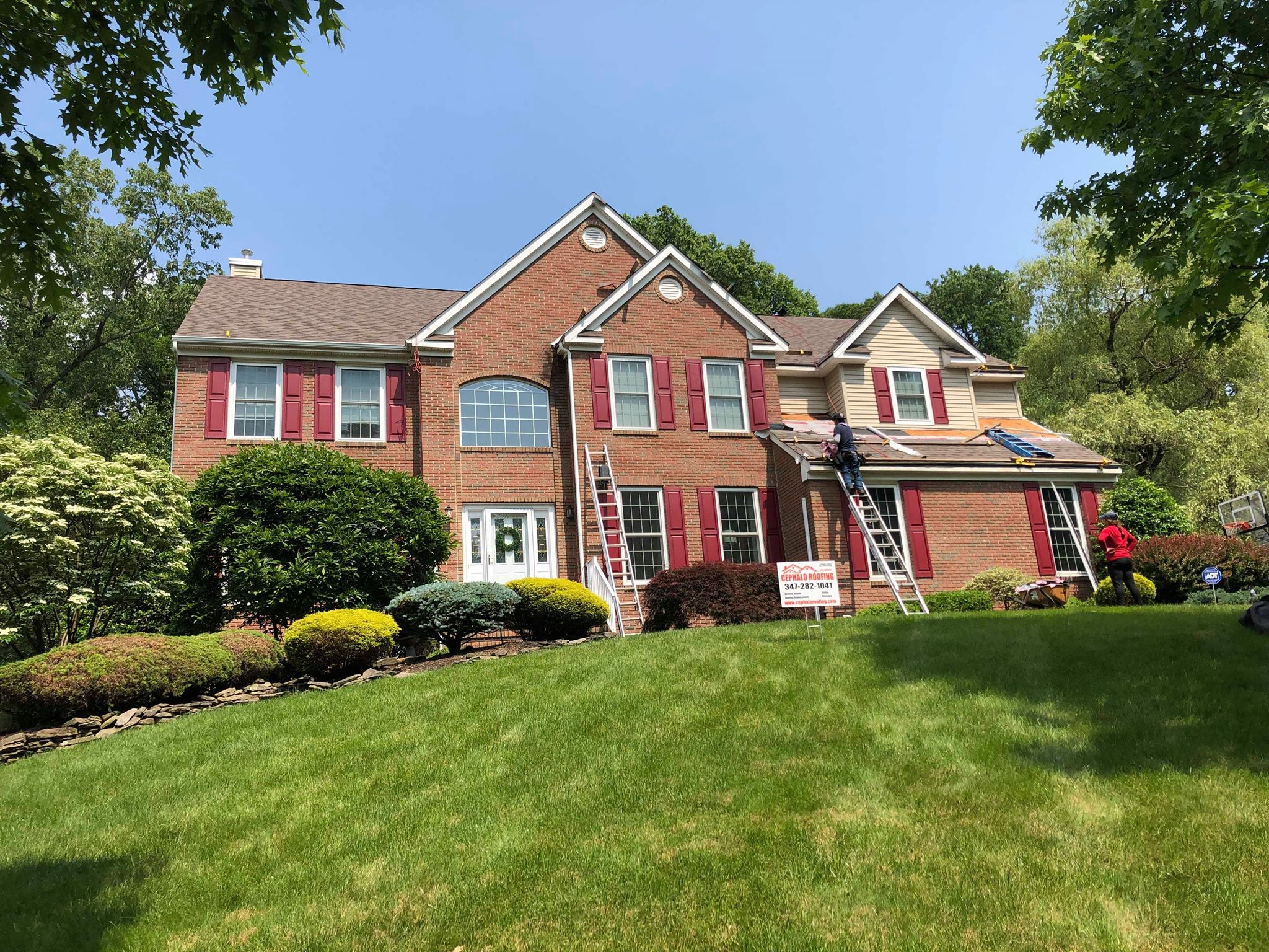 Roofinh Replacement in Sparta NJ cephalo Roofing