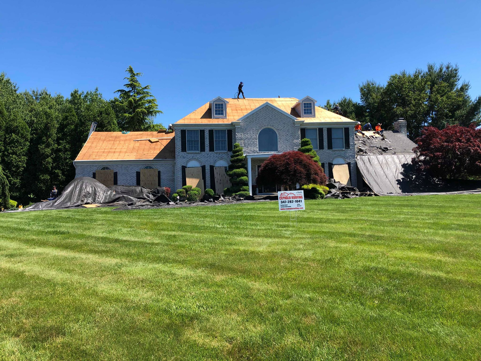 Roofing Replacement in Saddle River Nj